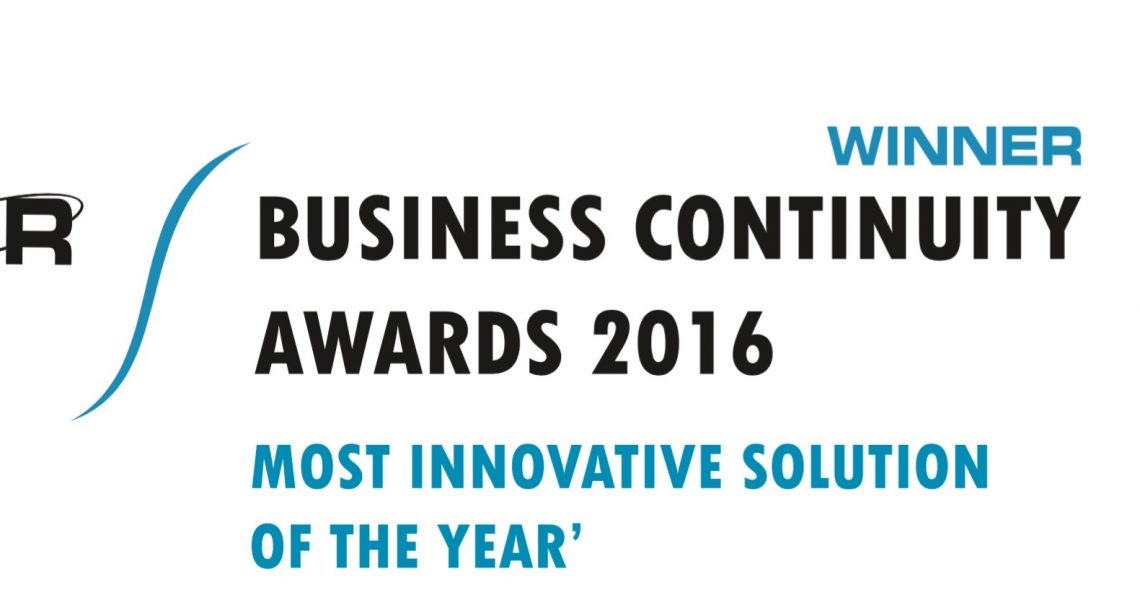 2016 Most Innovative Solution of the Year, CIR Business Continuity Award